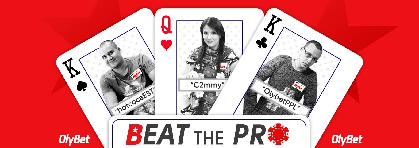Beat the Pro - igakolmapäevane pearaha turniir