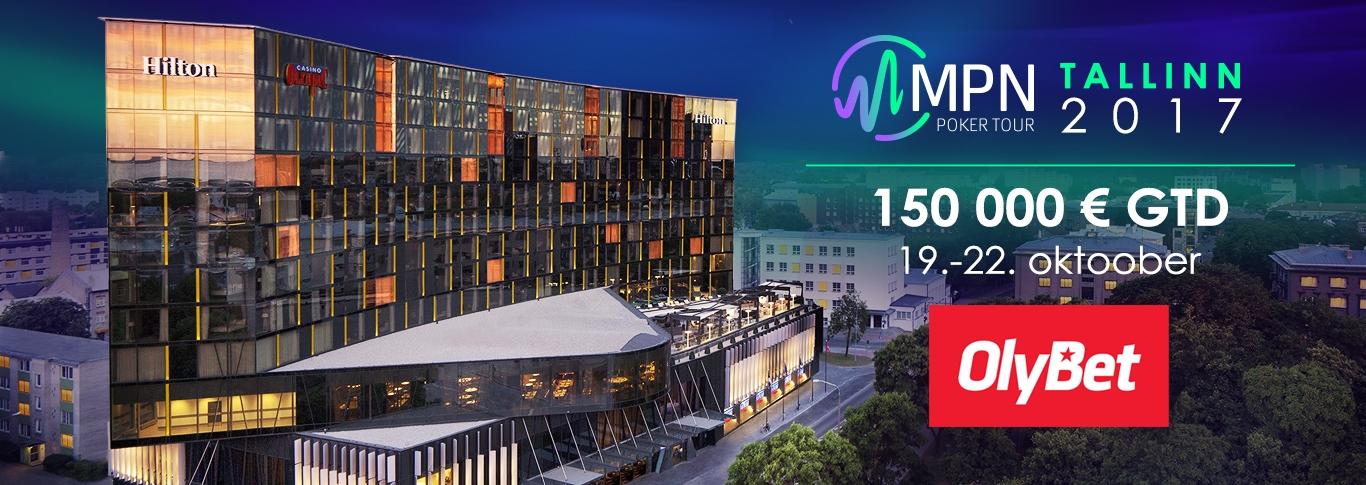 Võida MPNPT Tallinn 1500 € pakett või põhiturniiri pääse!