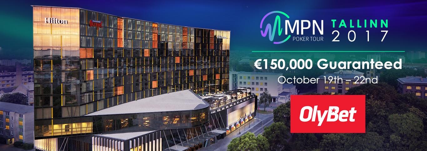 MPN Poker Tour Tallinn 19 – 22 October 2017
